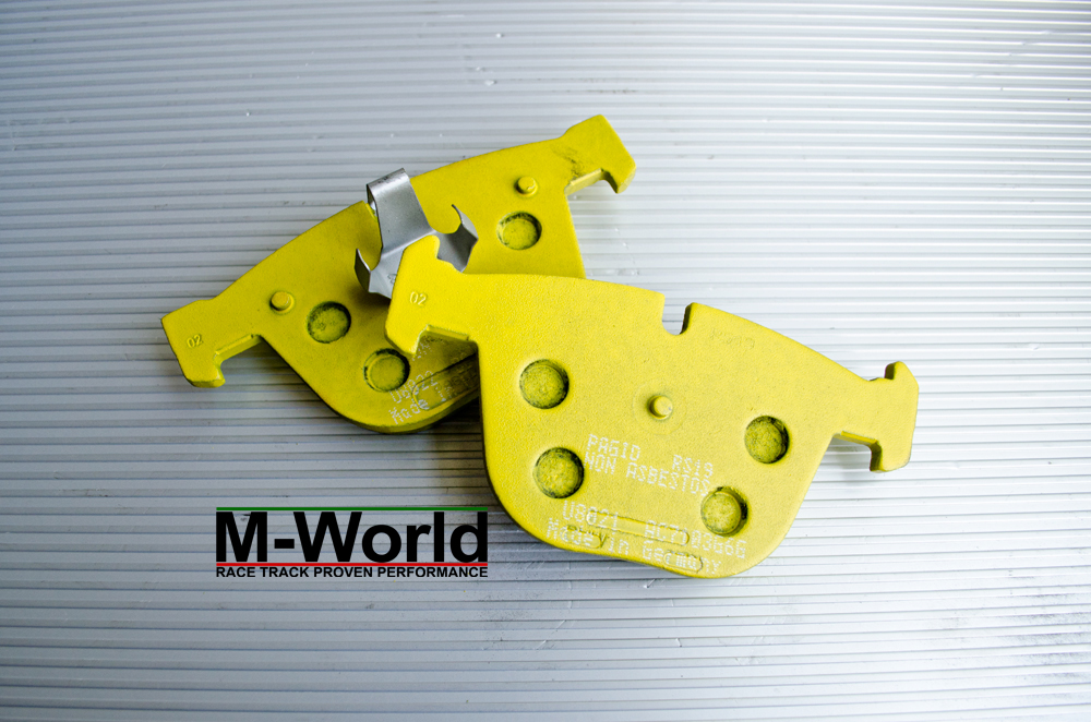 pagid yellow rs19 for bmw e90 e92 m3 rear