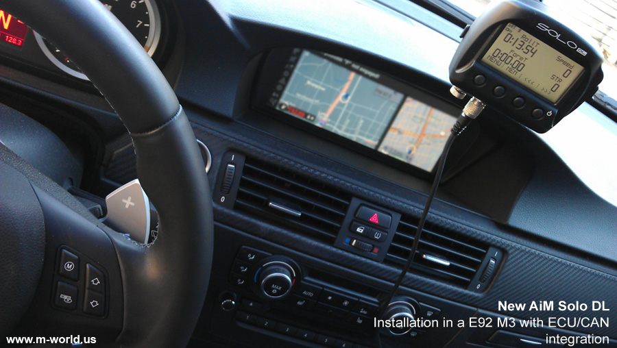 aim solo dl in bmw e92 m3 large